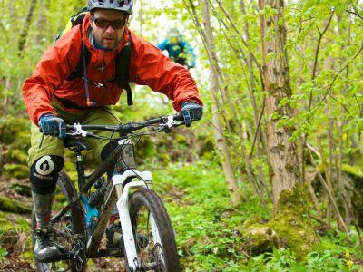 Mountainbiker in der Fränkischen Schweiz