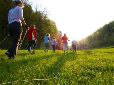 Nordic Walking im Trubachtal