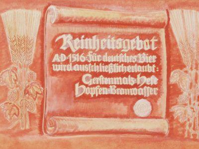 Das Bayerische Reinheitsgebot