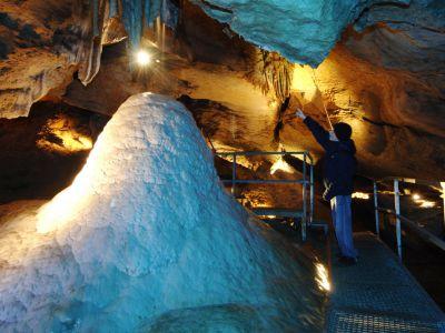 Sophienhöhle unter Burg Rabenstein